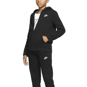 Boy Tracksuit and Hoodie Nike Core Suit Boy  Black/White BV3634010