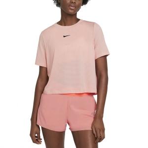 Magliette e Polo Tennis Donna Nike Court Advance Maglietta  Artic Orange/Black CV4811800