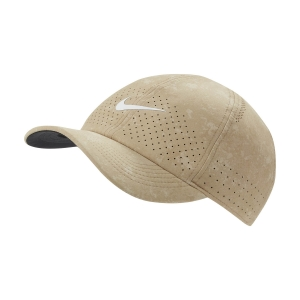 Tennis Hats and Visors Nike Court Advantage Cap  Parachute Beige DC4069297
