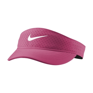 Tennis Hats and Visors Nike Court Advantage Visor  Vivid Pink CQ9334616