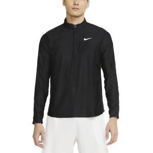 Camisetas y Sudaderas Hombre Nike Court Breathe Advantage Camisa  Black/White CV2866010