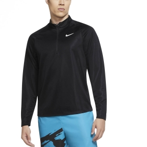Men's Tennis Shirts and Hoodies Nike Court Challenger Shirt  Black/White CK9822010