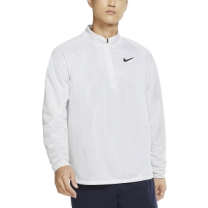 Men's Tennis Shirts and Hoodies Nike Court Challenger Shirt  White/Black CK9822100