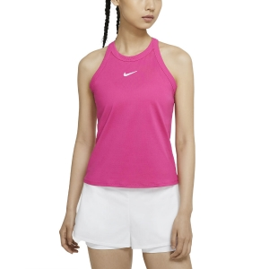 Women`s Tennis Tanks Nike Court DriFIT Tank  Vivid Pink/White AT8983616