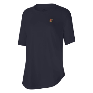 Women`s Tennis T-Shirts and Polos Nike Court TShirt  Obsidian CQ2428451