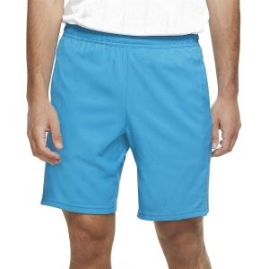 Pantaloncini Tennis Uomo Nike Court Dry 9in Pantaloncini  Neo Turquoise 939265425