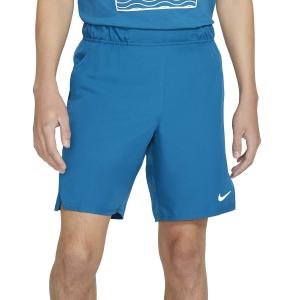 Men's Tennis Shorts Nike Court Flex Victory 9in Shorts  Green Abyss/White CV2545301