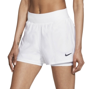Faldas y Shorts Nike Court Flex Victory 2in Shorts  White/Black CV4817100