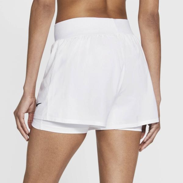 Nike Court Flex Victory 2in Shorts - White/Black