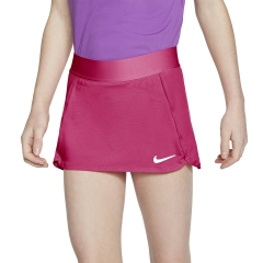Nike Court Falda Niña - Vivid Pink/White