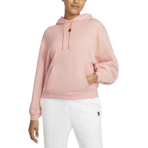 Women's Tennis Shirts and Hoodies Nike Court Heritage Hoodie  Artic Orange CK8447800