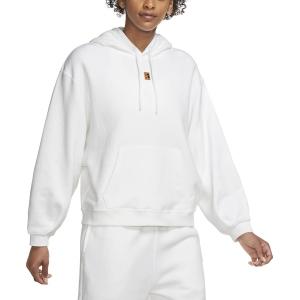 Maglie e Felpe Tennis Donna Nike Court Heritage Felpa  White CK8447100