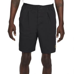 Pantaloncini Tennis Uomo Nike Court Heritage 8in Pantaloncini  Black CK9845010