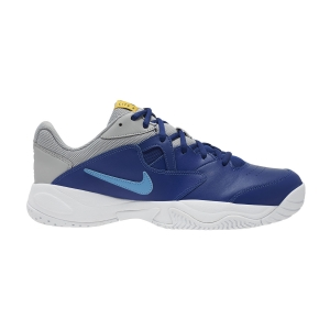 Scarpe Tennis Uomo Nike Court Lite 2 Clay  Deep Royal Blue/Coast/Light Smoke Grey BQ9662401
