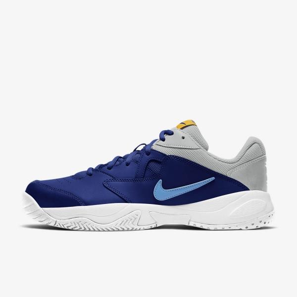 Nike Court Lite 2 Clay - Deep Royal Blue/Coast/Light Smoke Grey