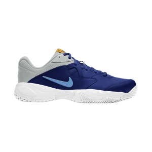 Scarpe Tennis Uomo Nike Court Lite 2 HC  Deep Royal Blue/Coast/Light Smoke Grey AR8836401