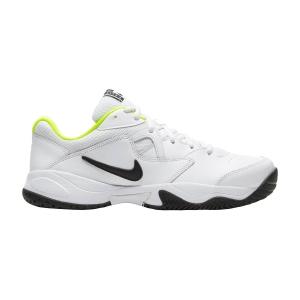Calzado Tenis Hombre Nike Court Lite 2 HC  White/Black/Volt AR8836107
