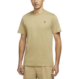 Camisetas de Tenis Hombre Nike Court TShirt  Parachute Beige BV5809297