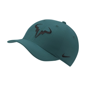 Tennis Hats and Visors Nike Court Rafa Aerobill H86 Cap  Dark Atomic Teal 850666300