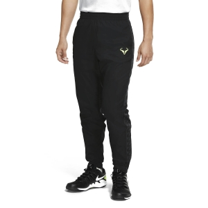 Men's Tennis Pants and Tights Nike Court Rafa Pants  Black/Volt CQ9245010