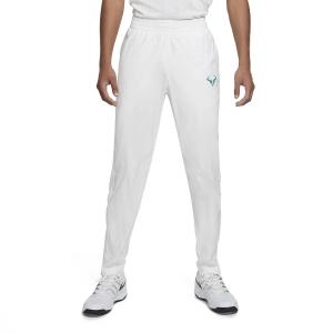 Pantaloni e Tights Tennis Uomo Nike Court Rafa Pantaloni  White/Lucid Green CQ9245100