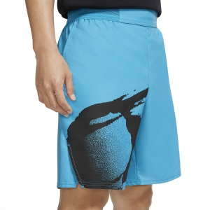 Men's Tennis Shorts Nike Court Slam 8in Shorts  Neo Teal/Black CK9775303