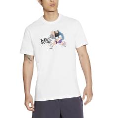 Nike Court Slam Maglietta - White