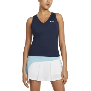 Canotte Tennis Donna Nike Court Victory Logo Canotta  Obsidian/White CV4784451