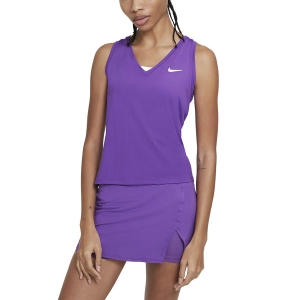 Top de Tenis Mujer Nike Court Victory Logo Top  Wild Berry/Black/White CV4784528