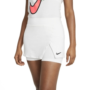Gonne e Pantaloncini Tennis Nike Court Victory Logo Gonna  White/Black CV4729100