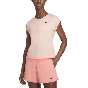 Magliette e Polo Tennis Donna Nike Court Victory Maglietta  Artic Orange/Black CV4790800