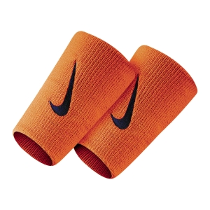 Tennis Wristbands Nike Premier DoubleWide Wristbands  Team Orange/College Navy N.000.1586.804.OS