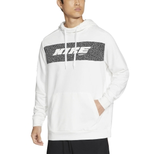 Men's Tennis Shirts and Hoodies Nike DriFIT Sport Clash Hoodie  White CZ1484100