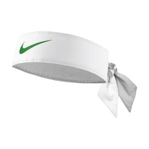 Tennis Headbands Nike Dry Headband  White/Lucid Green N.000.3204.181.OS