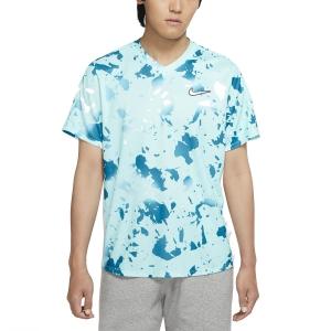 Men's Tennis Shirts Nike Dry Victory Print TShirt  Copa/White CV3135482