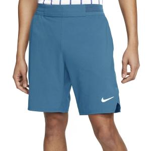 Pantalones Cortos Tenis Hombre Nike Flex Ace 9in Shorts  Neo Turquoise/White CI9162425