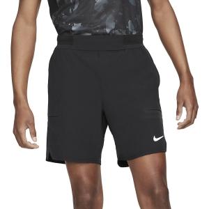 Men's Tennis Shorts Nike Flex Advantage 7in Shorts  Black/White CV5046010