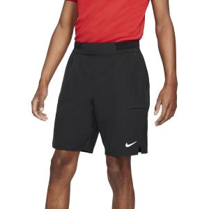 Pantaloncini Tennis Uomo Nike Flex Advantage 9in Pantaloncini  Black/White CW5944010