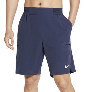 Men's Tennis Shorts Nike Flex Advantage 9in Shorts  Obsidian/White CW5944451