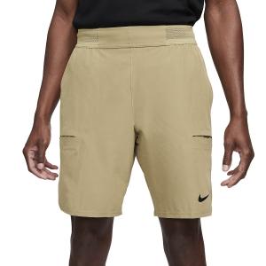 Pantaloncini Tennis Uomo Nike Flex Advantage 9in Pantaloncini  Parachute Beige/White CW5944297