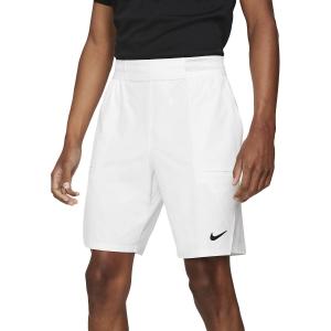Pantaloncini Tennis Uomo Nike Flex Advantage 9in Pantaloncini  White/Black CW5944100