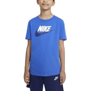Polo y Camisetas de Tenis Nike Futura Icon Camiseta Nino  Game Royal AR5252482