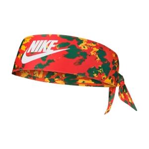 Tennis Headbands Nike Global Expl DriFIT West Headband  Chile Red/Amarillo/White N.100.2031.953.OS