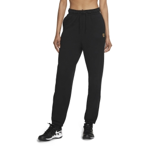 Women's Tennis Pants and Tights Nike Heritage Fleece Pants  Black CK8436010
