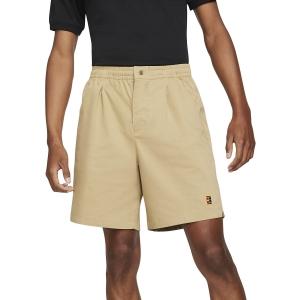 Men's Tennis Shorts Nike Court Heritage 8in Shorts  Parachute Beige CK9845297