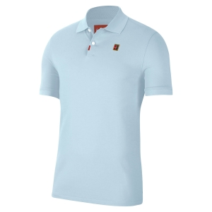 Polo Tenis Hombre Nike Heritage Natural Polo  Topaz Mist BQ4461449