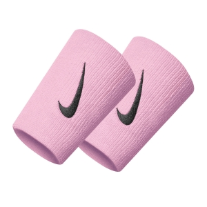 Tennis Wristbands Nike Premier DoubleWide Wristbands  Beyond Pink/Black N.000.2466.684.OS