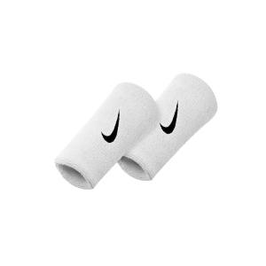 Muñequeras Tenis Nike Premier DoubleWide Munequeras  White/Grey N.NN.51.129.OS