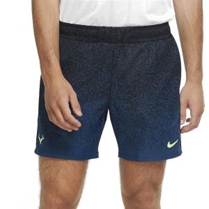 Men's Tennis Shorts Nike Rafa 7in Shorts  Black/Volt CK9783010