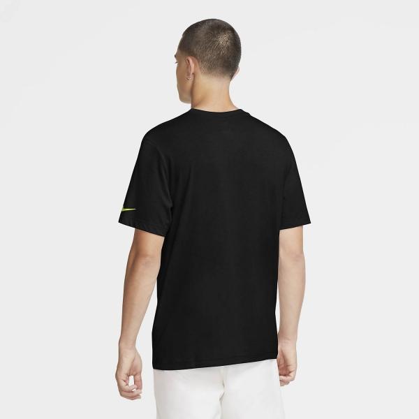 Nike Rafa Bull T-Shirt - Black/Volt